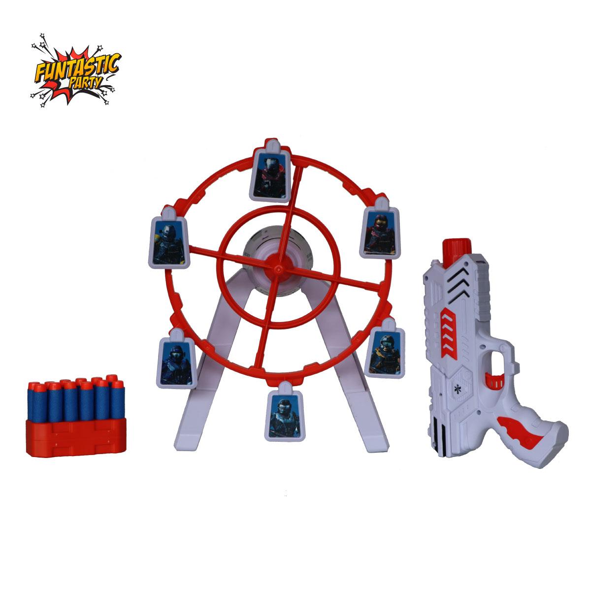 Pistol + Tinta Rotativa Funtastic Shooting