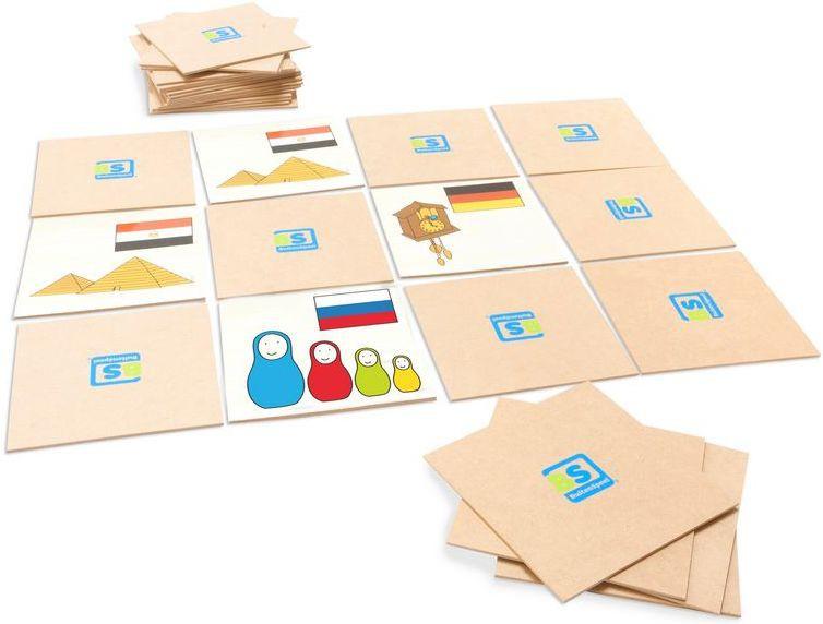 Joc De Memorie World Game Buitenspeel