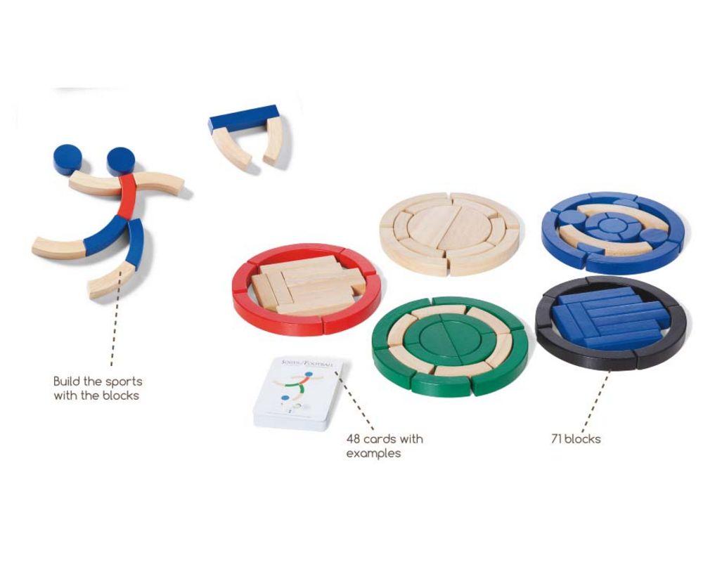 Joc De Constructie Sportivi Buitenspeel