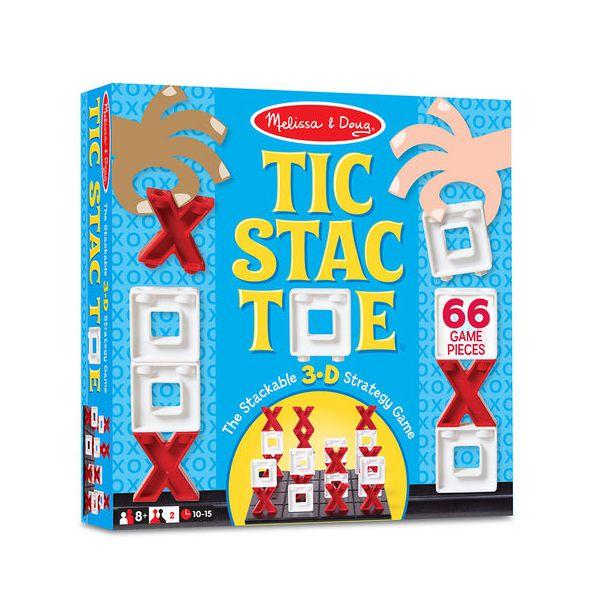 Joc X si O 3D Tic Stac Toe Melissa and Doug